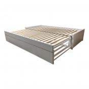 Rozkládací postele s jednou zásuvkou na matraci Saturn - sety s matracemi