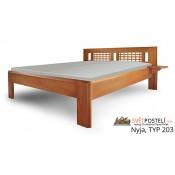 Dvoulůžkové postele bez úložného prostoru